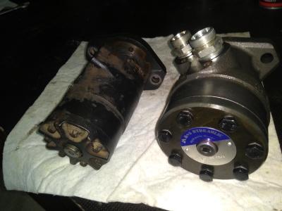 Inspectie van hydraulische onderdelen