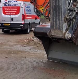 Mobiele hydrauliek service in Marknesse